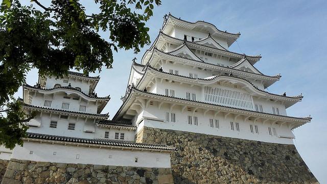 姫路城で良い写真が取れた