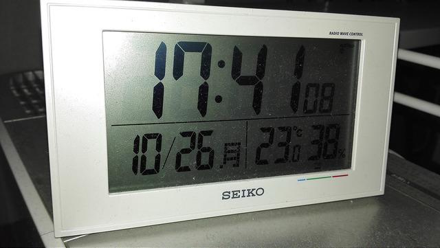 気温が2度下がると体調を崩すという仮説
