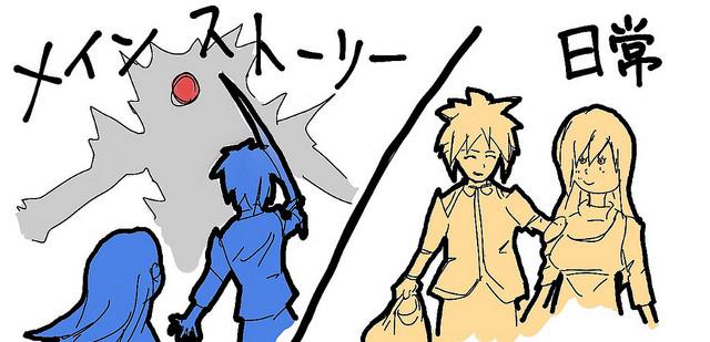 あるアニメに感じる珍しい構成、日常回とストーリー進行