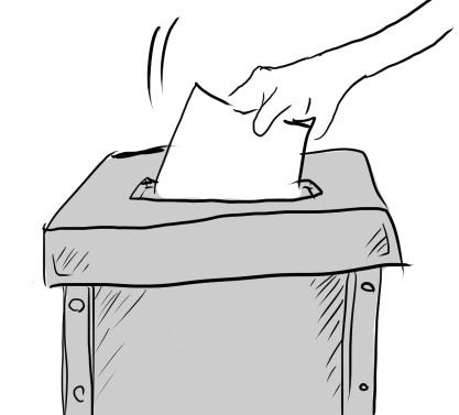 世間では選挙らしいけど、投票案内状がまだ来てないんですが?
