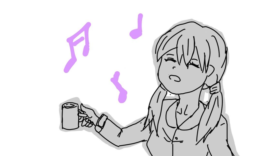 うがいをするときにメロディを奏でてしまうことってあるよね