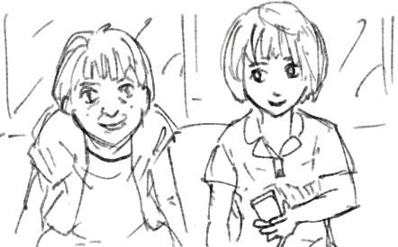 おばあさんと女子大生の奇妙な会話